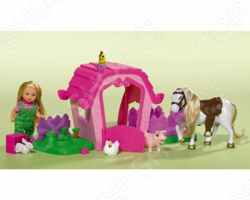 Кукла еви Simba на ферме
