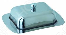 Масленка Regent 93-DE-BB-01 пригодится на каждой кухне. Масленка добавит порядка, уюта и удобства как на кухне, так и в гостиной. Данная модель - это классическая прямоугольная масленка, которая выполнена из нержавеющей стали. Она очень удобна в применении и хорошо гармонирует с другими столовыми приборами и посудой, ее можно мыть в посудомоечной машине.
