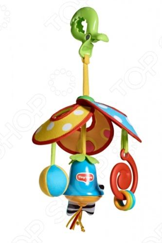 Подвеска детская Tiny love Веселая карусель погремушки tiny love подвеска колокольчик бабочка