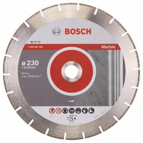 Диск отрезной алмазный для угловых шлифмашин Bosch Professional for Marble шлифовальная машина bosch gss 230 ave professional