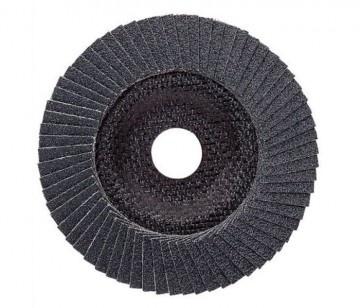 Диск лепестковый для угловых шлифмашин Bosch Prof for Metal 2608607356Насадки для шлифования, полировки, чистки<br>Круг лепестковый для угловых шлифмашин Bosch Prof for Metal 2608607356 представляет собой отличный инструмент, с помощью которого вам удастся выполнить все необходимые работы качественно и в срок. Изготовленные из прочного материала круг имеет специальное строение и структуру, позволяющие применять его совместно с болгарками при обработке разнообразных металлических поверхностей, при удалении ржавчины окалины, полировке и шлифовании. Высокое качество материалов изготовления обеспечивает долговременную и эффективную эксплуатацию, что, несомненно, придется по душе настоящему мастеру.<br>