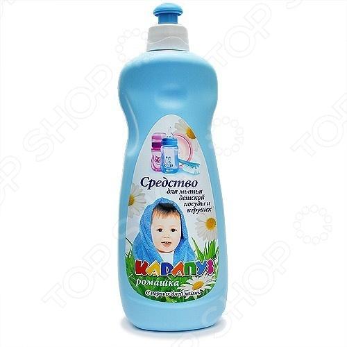 Средство для мытья детской посуды Карапуз Украина «Ромашка» Карапуз - артикул: 395737