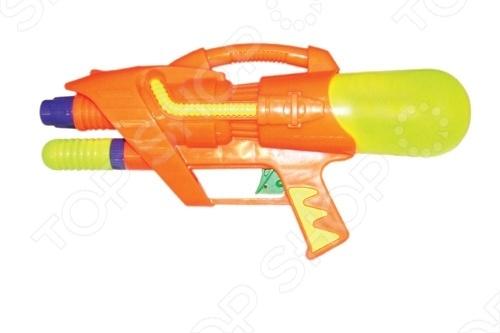 Водный пистолет Тилибом Т80390 водный пистолет тилибом с помпой 45см красный для мальчика