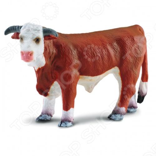 Фигурка Gulliver Херефордский бык