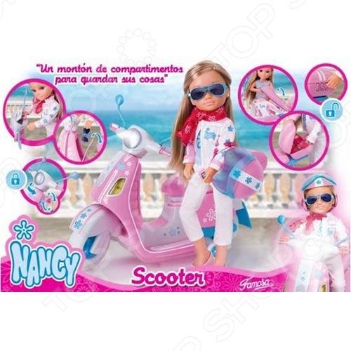 Famosa «Нэнси в наборе со скутером» famosa игровая площадка нэнси