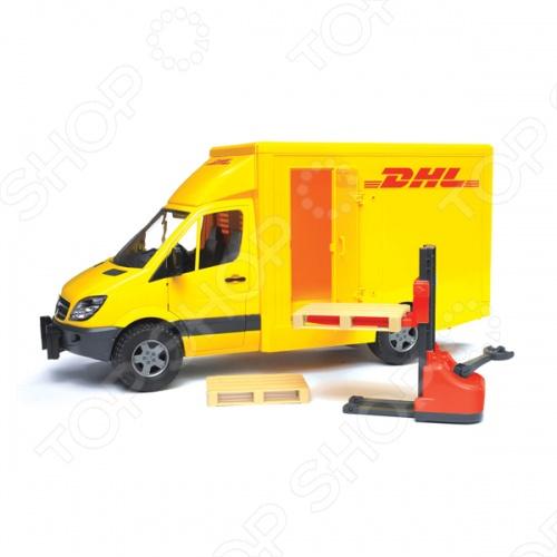 Фургон с погрузчиком Bruder MB Sprinter DHL