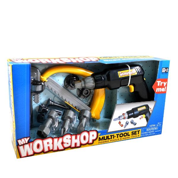 цены Игровой набор Keenway Набор инструментов: дрель, пила, инструменты