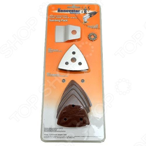 Набор аксессуаров Renovator Sanding Pack набор шлифовальных листов bosch 2609256a35