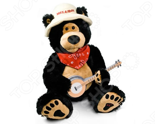 Мягкая игрушка интерактивная Музыкальные подарки «Медведь Топтыжкин»