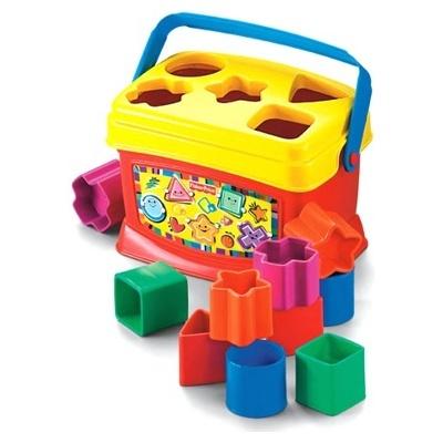 фото Игрушка развивающая Fisher Price Первые кубики, Кубики для малышей
