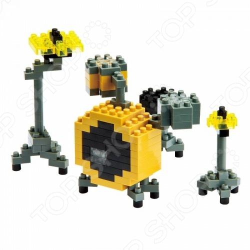 Мини-конструктор Nanoblock NBC_024 «Барабаны» мини конструктор nanoblock лошадь