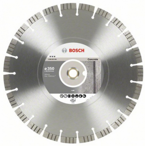 Диск отрезной алмазный для настольных пил Bosch Best for Concrete 2608602659