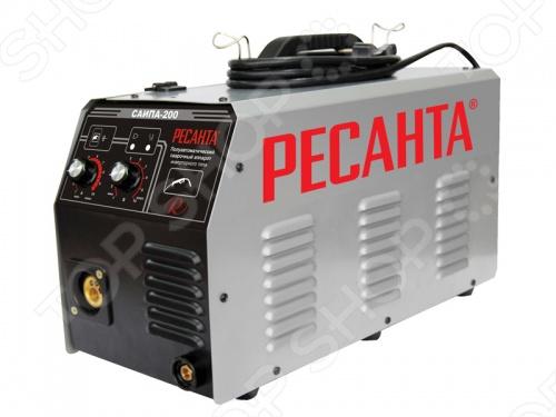 Аппарат сварочный инверторный полуавтоматический Ресанта САИПА-200