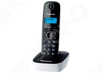 Сильный радиотелефон Panasonic KX-TG1611 разнообразит интерьер вашей квартиры или офиса. Оснащен монохромным дисплеем с синей подсветкой на трубке. Есть 12 мелодий звонка. Работает до 170 часов в режиме ожидания и до 15 часов в режиме разговора.