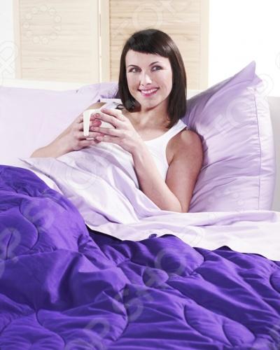 Фото Комплект Dormeo Bed Set Trend. Размерность: 1,5-спальное. Цвет: фиолетовый