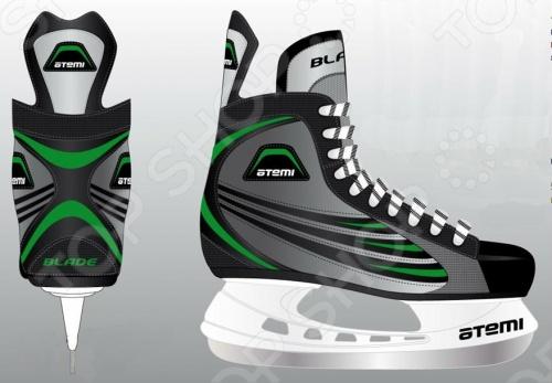 Коньки хоккейные Atemi BLADE GREEN