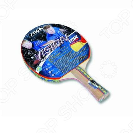 Ракетка для настольного тенниса Stiga Vision MAX ракетка для настольного тенниса stiga react арт 1877 01