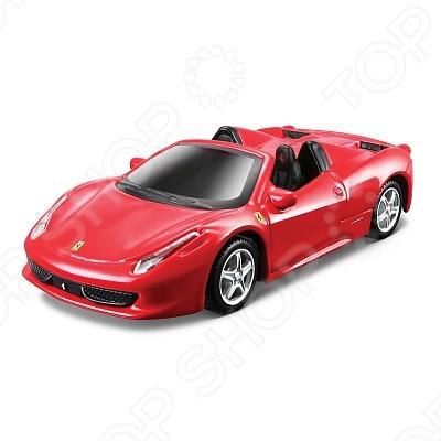 Сборная модель автомобиля 1:43 Bburago Ferrari 458 Spider