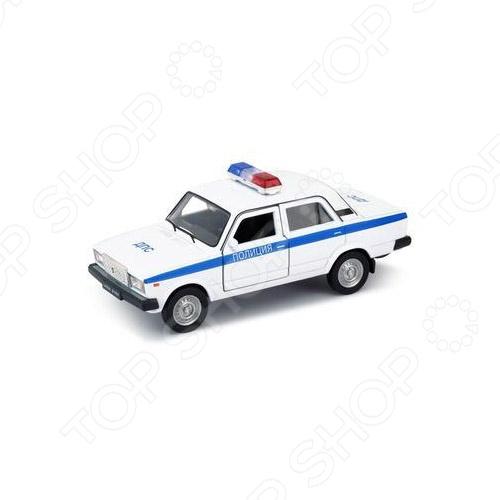 Модель автомобиля 1:34-39 Welly LADA 2107. Полиция куплю литые диски в крыму на ваз 2107