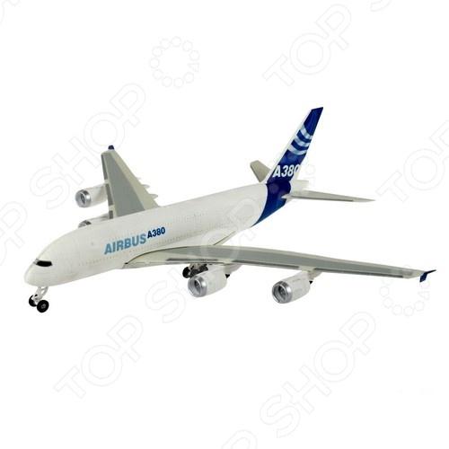 Сборная модель пассажирского самолета Revell «Airbus A380 демонстрационный» модель сборная revell самолёт пассажирский airbus a380 lufthansa 1 144