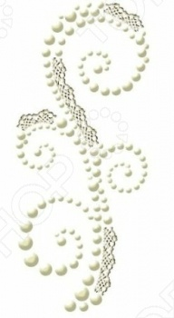 фото Аппликация самоклеющаяся Prima Marketing Swirls lace 2, купить, цена