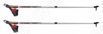 Палки лыжные раздвижные Larsen Tour - легкие, прочные, современные, с привлекательным дизайном, эргономическими ручками, прочные опоры со стальными наконечниками. Larsen Tour предназначены спортсменам-любителям, туристам и любителям активного отдыха. Геометрия палок: верхний d-17мм, нижний d-10мм. Опора: пластиковая с твердосплавным наконечником. Длина палки регулируемая - 90-130 см и 130-170 см. А ручки у Larsen Tour полиуретановые. Подарите себе и или своим любимым активчикам настоящее зимнее приключение вместе с палками лыжными Larsen Tour!