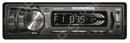 Автомагнитола Soundmax SM-CCR3049F автомагнитола usb sd soundmax sm ccr3056f