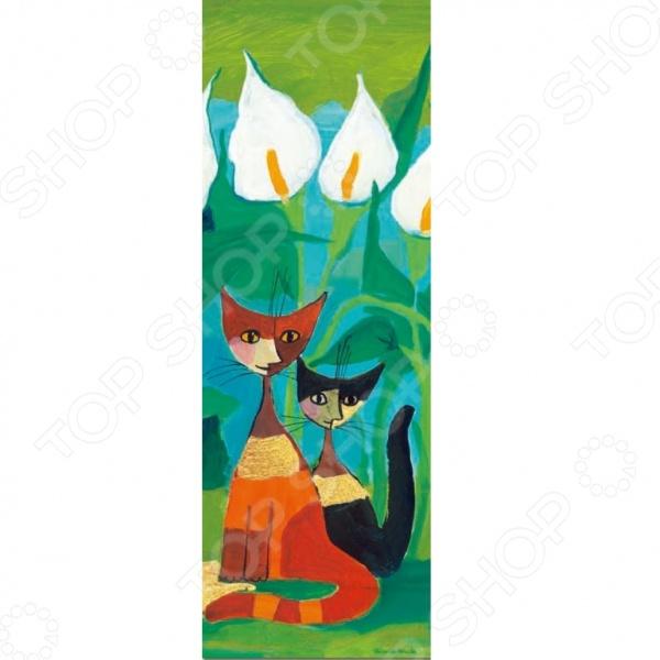 Пазл 1000 элементов Heye «Каллы» Rosina WachtmeisterПазлы (501–1000 элементов)<br>Пазл Heye Каллы Rosina Wachtmeister это отличное и веселое времяпрепровождения для всей семьи. Внутри упаковки находится набор из 1000 элементов. Части изображения соединяются между собой с помощью пазлового замка. Собрав все детали воедино, у вас получится великолепная репродукция картины австрийской художницы Розины Уотчмайстер. Яркую картину, сперва надежно закрепив, можно повесить на стену, как предмет декора. Пазл Heye Каллы Rosina Wachtmeister изготовлен из абсолютно безопасного материала, поэтому замечательно подойдет для детей. Головоломка развивает усидчивость, наблюдательность, образное восприятие и логическое мышление. Постоянно манипулируя деталями, ребенок улучшает мелкую моторику рук и координацию движений. Размер готового пазла составляет 94,5х32,6 см.<br>