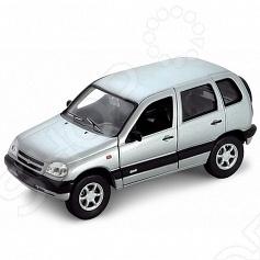 Модель машины 1:34-39 Welly Chevrolet Niva. В ассортименте