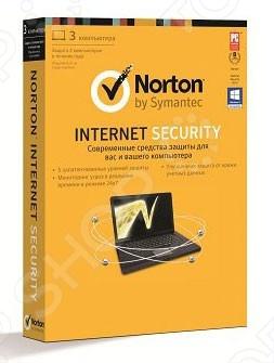 фото Антивирусное программное обеспечение Symantec Norton Internet Security 2013 RU 1 User 3LIC HP Attach, Антивирусное ПО