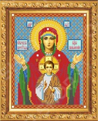 Набор для вышивания бисером Светлица «Образ Пресвятой Богородицы Знамение»