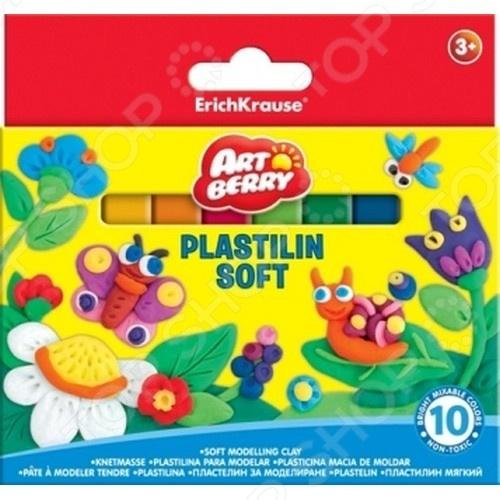Пластилин Erich Krause 33298 это набор разноцветного пластилина. Отличные цвета получаются на смешивании разных оттенков, вы можете создать уникальные фигурки. Такой пластилин подойдет как для подарка ребенку, так и любому любителю лепки, ведь можно использовать его для создания удивительных предметов, фигурок или тренироваться перед использованием полимерной глины. В комплекте 10 цветов.
