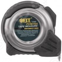 Рулетка с прорезиненным корпусом и магнитным крючком Рулетка FIT с прорезиненным корпусом и магнитным крючком