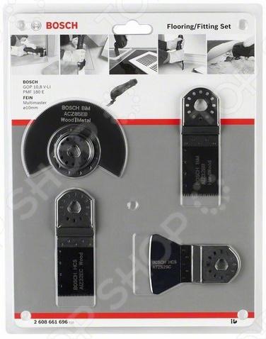 Набор насадок для универсального инструмента Bosch 2608661696 цена
