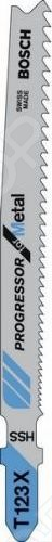 Набор пильных полотен Bosch T123 X HSS brand new hss trapezoidal metric tap left hand tr 12mm x 2