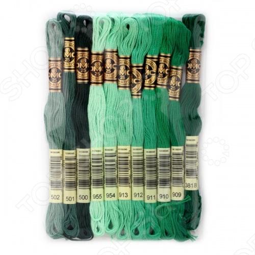 Набор мулине DMC №20Наборы мулине<br>Набор мулине DMC 20 станет настоящим подарком для любой рукодельницы. Набор состоит из 11 моточков. 1 моток содержит пасму из 6 ниточек длиной 8 метров. Цветовая гамма различна, так что цветовая сторона полностью зависит от вашей фантазии.<br>