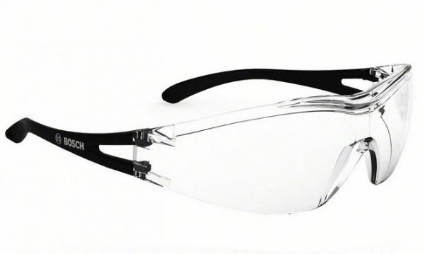 Очки защитные с дужками Bosch GO 1C представляют собой необходимый аксессуар при выполнении монтажных и строительных работ. Модель предназначена для защиты глаз от ультрафиолетовых лучей, попадания пыли, стружки и других вредных веществ. Очки изготовлены из прозрачного поликарбоната, оснащены удобными дужками и эргономичной оправой, обеспечивающей хорошую боковую защиту и широкий обзор. Изделие изготовлено в соответствии с европейскими стандартами в области средств индивидуальной защиты глаз EN 166.