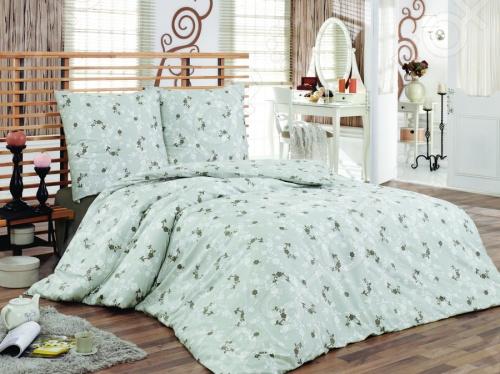 Комплект постельного белья Tete-a-Tete «Консуэло». 2-спальный2-спальные<br>Комплект постельного белья Tete-a-Tete Консуэло 2-спальный необычайно нежный и красивый - станет украшением любой спальни и подарит крепкий и здоровый сон. Ваша постель будет выглядеть безупречно. Лёгкость и шелковистость ткани после стирки ещё больше усилится, поэтому спать на этом белье со временем станет ещё приятнее. Наволочки с клапанами не имеют пуговиц и молний, которые могут поранить кожу во сне. Все изделия комплекта - цельнокроеные, и не имеют грубых швов. Комплект изготовлен из 100 хлопка, плотность 140 г м2. Стирать изделия следует при температуре не выше 30С с использованием щадящих отбеливающих средств, высокотехнологичных моющих средств и ополаскивателей. При стирке изделия не линяют и обладают минимальной усадкой. Комплект упакован в подарочную коробку.<br>