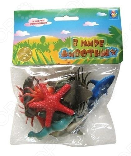 Набор морских животных 1 Toy Т50513