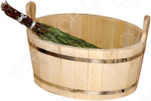 Ушат Банные штучки Шайка это традиционный и необходимый элемент настоящей бани. Ушат изготовлен из прочного и качественного древесного материала кедра. Также он имеет удобную форму и современный практичный внешний вид.