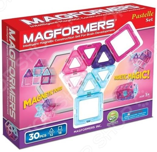 Конструктор магнитный Magformers 30 Pastelle