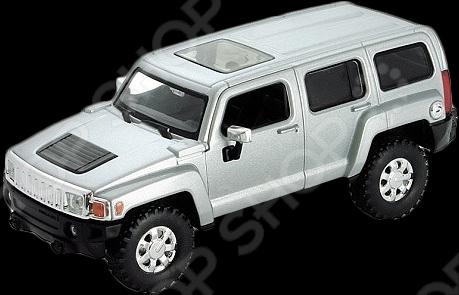 Модель машины 1:34-39 Welly Hummer H3. В ассортименте