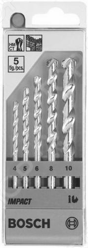 Набор сверл по камню Bosch 1609200228Наборы сверл<br>Набор сверл по камню Bosch 1609200228 представляет собой набор отличных ударопрочных и высокопроизводительных сверл, с помощью которых вам удастся просверлить необходимые отверстия в таких поверхностях как: бетон, кирпич, известняк, природный или искусственный камень. Возможность применения элементов набора с ударными дрелями, надёжность, обеспечивающая высокое качество выполняемых работ, а так же долговечность использования, несомненно, придется по душе любому мастеру.<br>