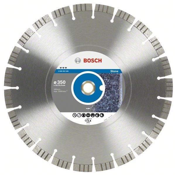 Диск отрезной алмазный для настольных пил Bosch Best for Stone 2608602650 диск отрезной алмазный для настольных пил bosch expert for concrete 2608602563