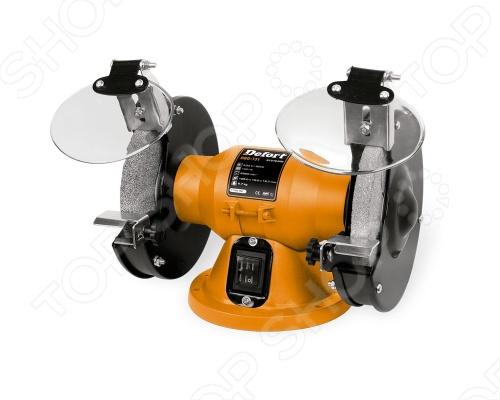 Машина заточная Defort DBG-131NТочильные и токарные станки<br>Машина заточная Defort DBG-131N представляет собой инструмент с электродвигателем мощностью 120 Вт. Предназначен для шлифовки, заточки, снятия ржавчины металлической поверхности различных инструментов и оборудования. Надежная работа и небольшие габариты позволят использовать Defort DBG-131N как дома, так и в промышленных условиях. Скорость холостого хода Defort DBG-131N 2950 об мин.<br>