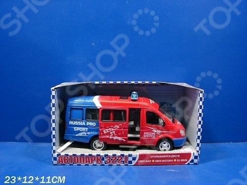 Машина инерционная Joy Toy «Газель 3221 Спорт» Р40527