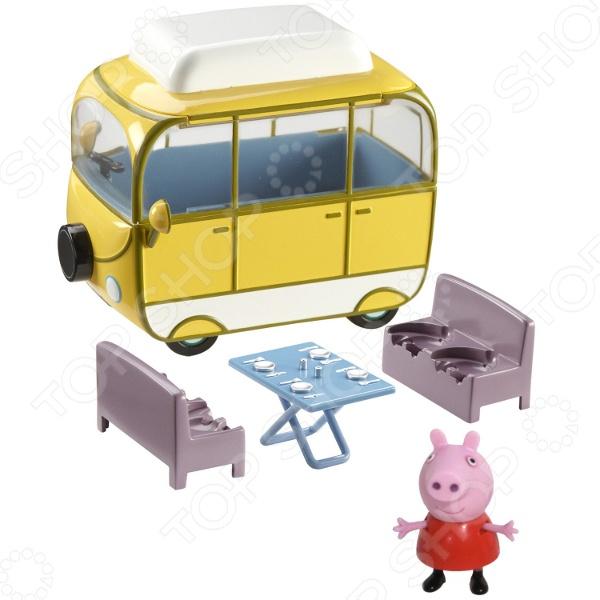 Набор игровой Peppa Pig «Веселый кемпинг» набор теста для лепки peppa pig на даче у пеппы