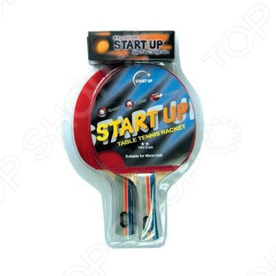 Набор для настольного тенниса Start Up BR20/2 star ракетка для настольного тенниса stiga impulse tube цвет красный