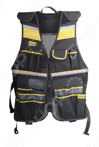 Жилет для ношения инструмента STANLEY FatMax Tool Vest ver 2016 cherry plate carrier aor1 cpc vest tactical military vest fit zipper panel free shipping stg050990
