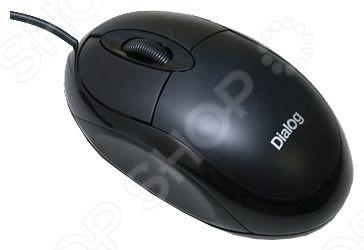 Мышь Dialog MOP-00BP Black PS/2 dialog action gp a01 black